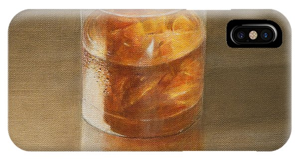 Decor iPhone Case - Glass Of Whisky 2010 by Lincoln Seligman
