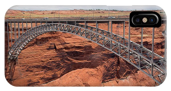 Glen Canyon Dam Bridge Phone Case by Jim West