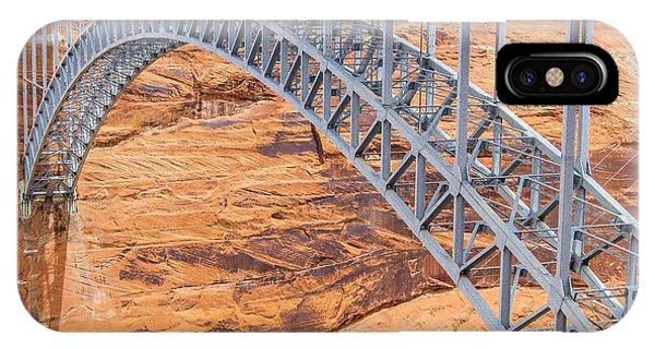 Glen Canyon Dam Bridge IPhone Case