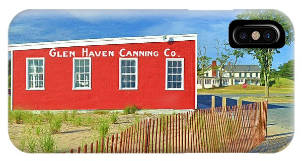 Glen Haven Canning Co. IPhone Case