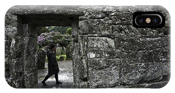 Glendalough Ireland Phone Case by Sean Weaver