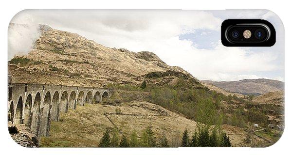 Glenfinnan Train Viaduct Scotland IPhone Case