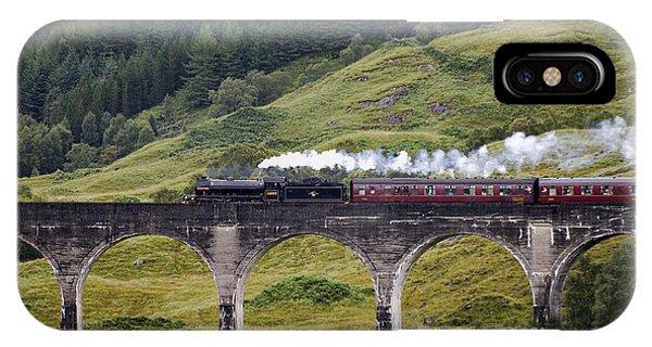 Glenfinnan Viaduct - D002340 IPhone Case