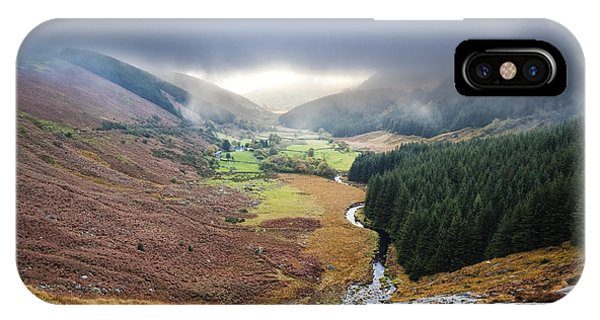 Glenmacnass 1 Phone Case by Michael David Murphy