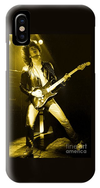 Glenn Tipton Of Judas Priest At The Warfield Theater During British Steel Tour - Unreleased IPhone Case