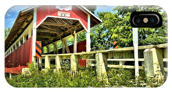 Somerset County iPhone Case - Glessner Wooden Bridge by Adam Jewell