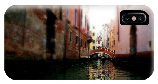 Gliding Along The Canal  IPhone Case