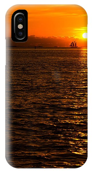 Orange Sunset iPhone Case - Glimmer by Chad Dutson
