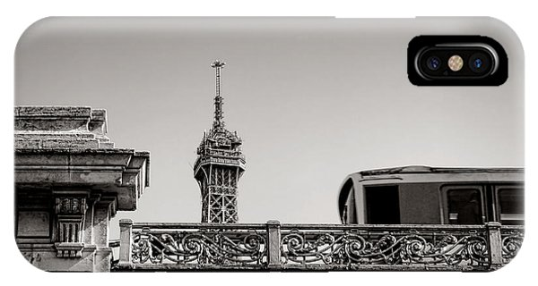 Paris Metro iPhone Case - Glimpse by Olivier Le Queinec
