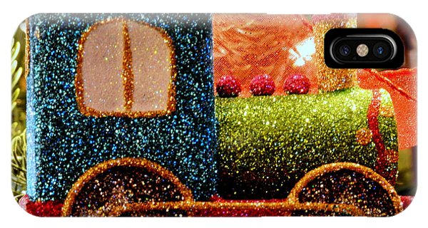Glitter Express IPhone Case