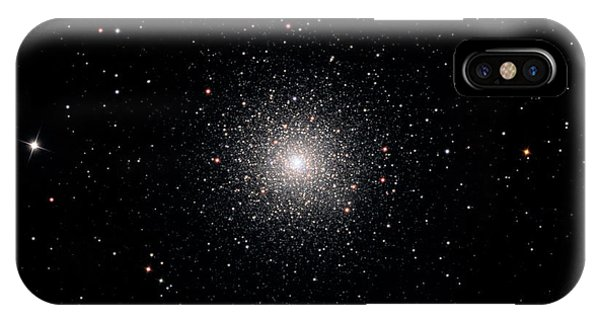 1851 iPhone X Case - Globular Cluster Ngc 1851 by Damian Peach
