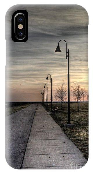 Gloomy Walkway IPhone Case