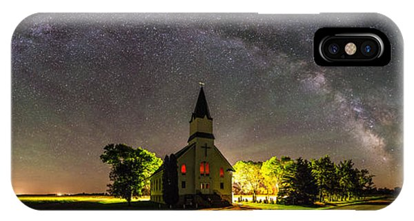 Lutheran iPhone Case - Glorious Night by Aaron J Groen