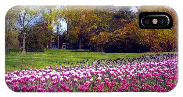 Glory Of Tulips IPhone Case