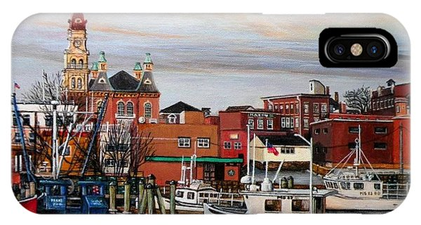 Gloucester Harbor IPhone Case