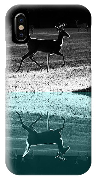 Glowing Buck Reflection IPhone Case