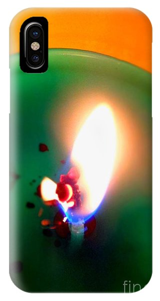 Glowing Candle Wick IPhone Case