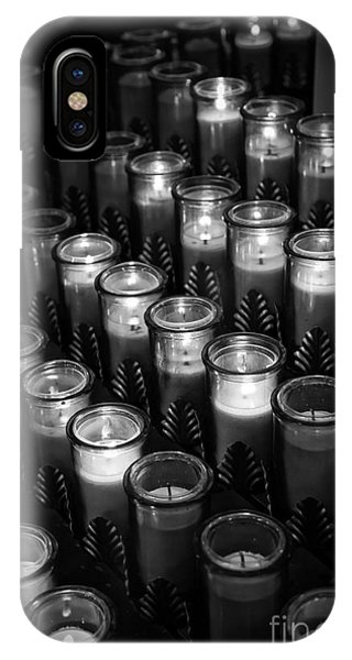 Glowing Candles In A Church IPhone Case