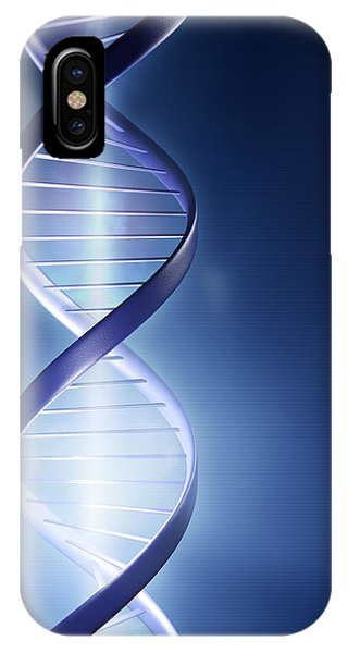 Beam iPhone Case - Dna Technology by Johan Swanepoel