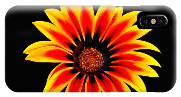 Glowing Flower IPhone Case