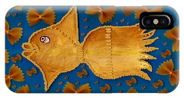 Glowing  Gold Fish IPhone Case