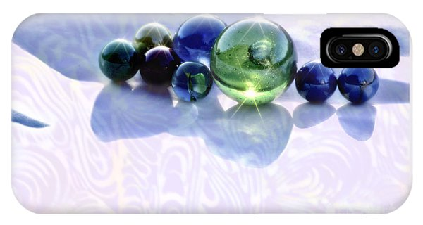 Glowing Marbles IPhone Case