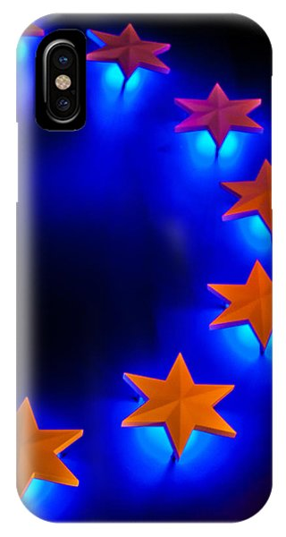 Glowing Stars Of Freedom IPhone Case