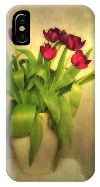 Glowing Tulips IPhone Case