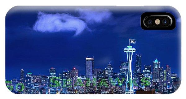 Go Seahawks IPhone Case