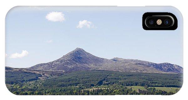 Goat Fell Isle Of Arran Scotland IPhone Case