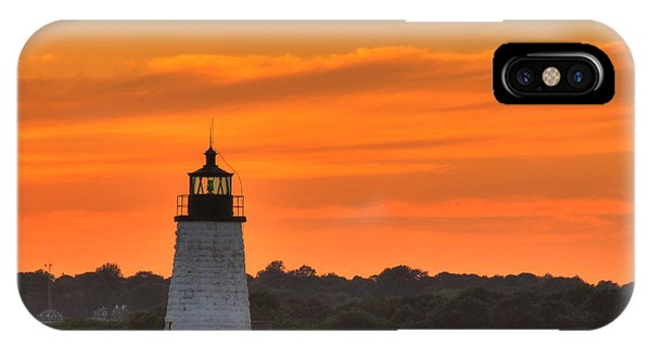 Goat Island Light IPhone Case