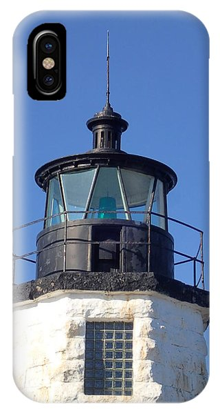 Goat Island Lighthouse IPhone Case