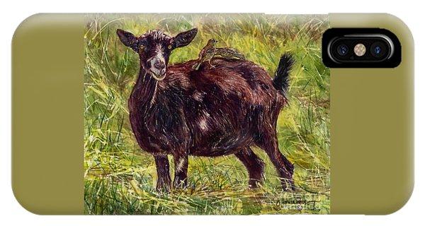 Goat Piggybackers IPhone Case