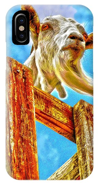 Goat Up High IPhone Case