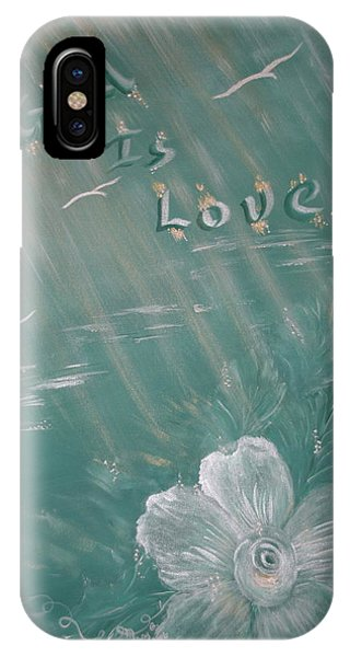 God Is Love Phone Case by Mary Grabill