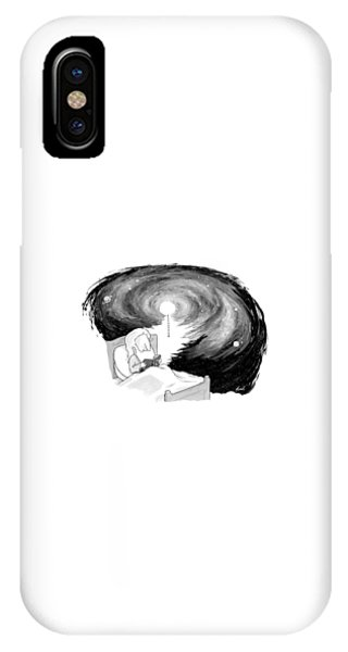 God Reads In Bed IPhone Case