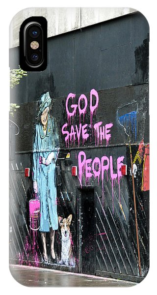 God Save The People IPhone Case
