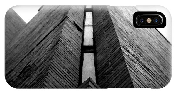 Goddard Stair Tower - Black And White IPhone Case