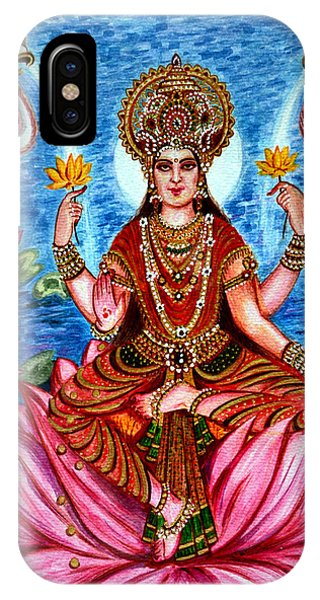 Goddess Lakshmi IPhone Case