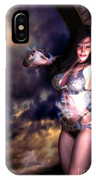 Goddess Of Storms IPhone Case
