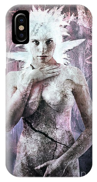Freeze iPhone Case - Goddess Of The Water Oh My Goddess Edition by Michael Volpicelli