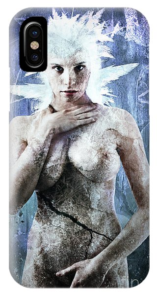 Freeze iPhone Case - Goddess Of Water by Michael Volpicelli