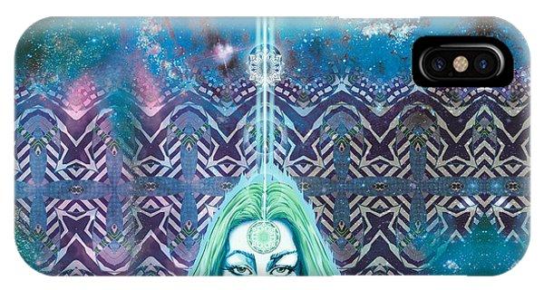 Godess Wisdom Phone Case by Thomas Ambrose DENNEY