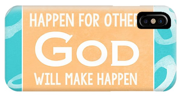 God's Gift - Blue IPhone Case