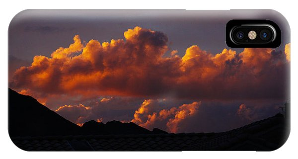 God's Golden Clouds IPhone Case