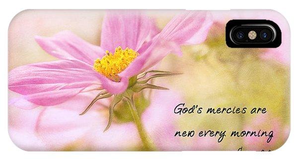 God's Mercies IPhone Case