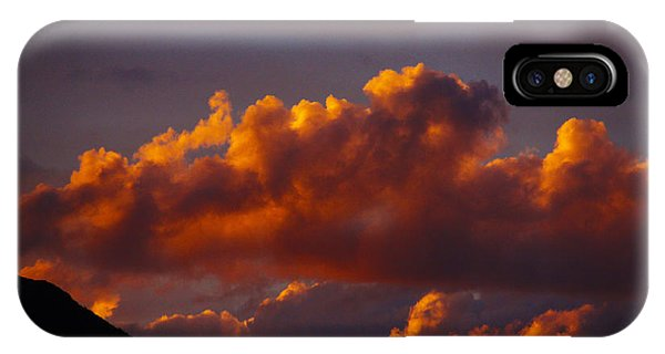 God's Sunset Cloud IPhone Case