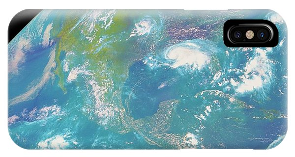 Goes Image Of North & Central America Phone Case by Nasa/science Photo Library