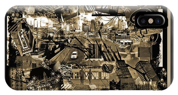 Goin' To Kansas City - Grunge Collage IPhone Case