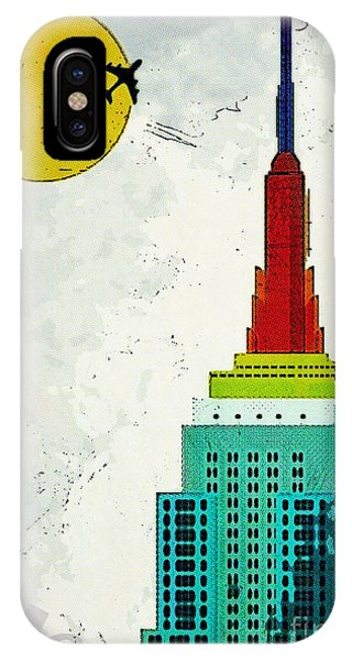 Empire State Building iPhone Case - Going Away by Nishanth Gopinathan
